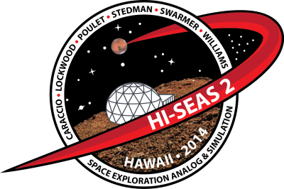 Patch de la mission HI-SEAS 2